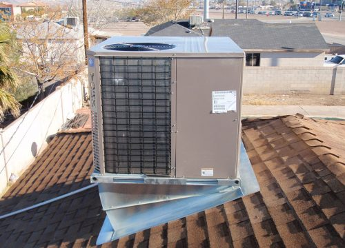 Black Mountain Air - Las Vegas AC Repair Company - Repaired Air Conditioning Unit