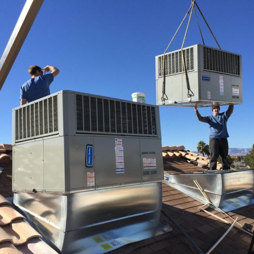 Black Mountain Air - Las Vegas HVAC Company Team Providing Air Conditioning Repair Services, AC Installs and Monthly Maintenance Services