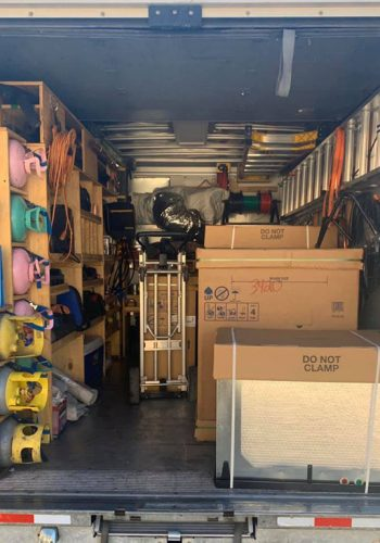 Fully Stocked Truck Black Mountain Air - Las Vegas HVAC Company Team Providing Air Conditioning Repair Services, AC Installs and Monthly Maintenance Services