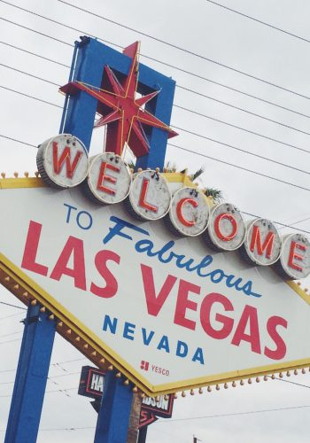Welcome To Las Vegas Sign