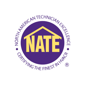 NATE Logo - North American Technician Excellence HVAC Association