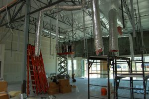 Black Mountain Air - Commercial HVAC Contractors Las Vegas - Commercial Installation Company - Working Inside Commercial Buildings